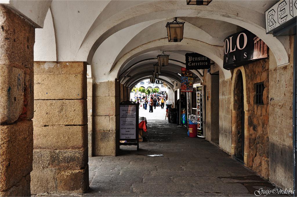 Adios en la calle pintores y en la plaza de caceres en los - Pintores en caceres ...
