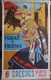 cartel feria mayo 1965 por f. martinez moreno
