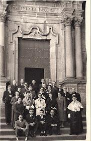 claustro de profesores insti 1950
