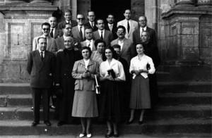 claustro el brocense 1955