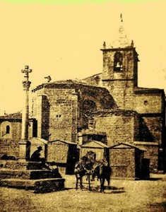La Corredera de San Juan en Sepia