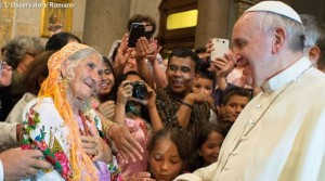 francisco I con los pobres 1