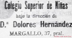 margallo.colegiosuperiordeniñaselnoticiero14-I-1914