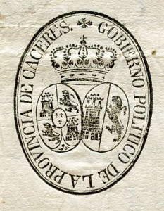 GOBIERNO POLITICO PROVINCIA CACERES 1823