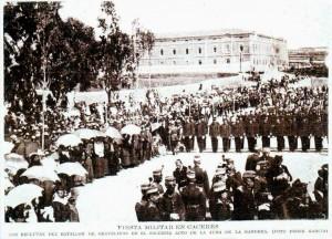 JURA DE BANDERA. BLANCO Y NEGRO 1915