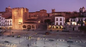PLAZA MAYOR DE CACERES