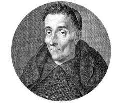 El historiador, epigrafista y religioso agustino Enrique Flórez de Setién y Huidobro, que descalifica la obra de Juan Solano de Figueroa y Altamirano tildándola de cronicón.