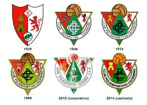 escudos del Cacereño