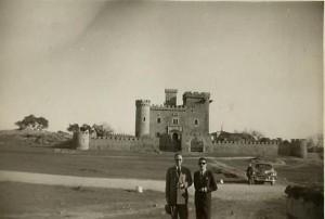 conde de canilleros castillo de las seguras 1950