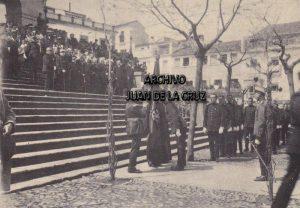Primera Jura de Bandera del Regimiento Segovia 75, en Cáceres, en 1919.