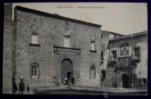 palacio episcopal, m.c.,caceres, impresa en reims años 20