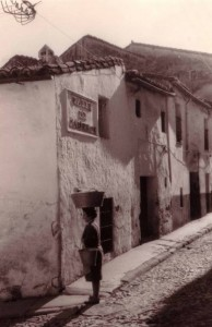 caleros. esquina caleros- villaobos 1960.