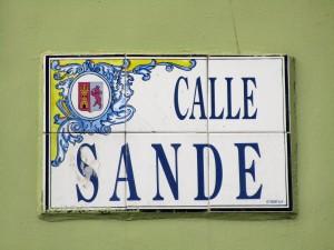 calle de sande