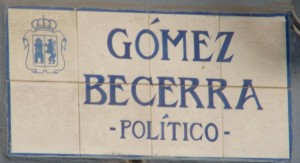calle gomez becerra