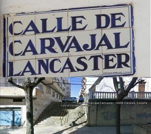 calle carvajal y lancaster