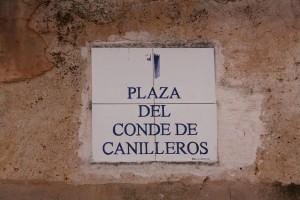 plaza del conde de canilleros