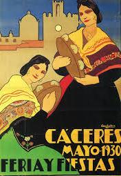 CARTEL FERIAS AÑO 1930