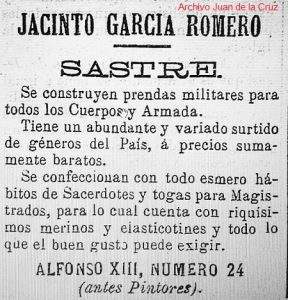 callepintores.jacintogarcia.1898.elecodelamontaña