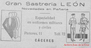 sastrerialeon-lafalange1agosto1936