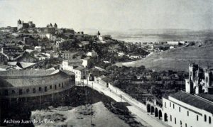 Vista de Cáceres en fotografía de Javier García Téllez.