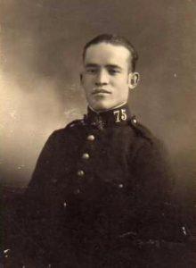 Soldado del Regimiento Segovia 75, por Javier.