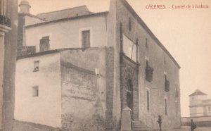 DEL REGIMIENTO SEGOVIA 75 EN CACERES