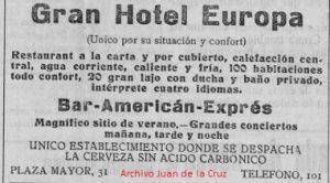 AMERICAN BAR EN CACERES (AÑOS 30)