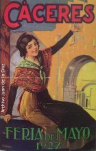 LA FERIA DE CACERES EN 1927