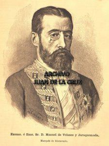 Manuel de Velasco y Jaraquemada. Gobernador Civil en 1899.