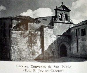 ORACIONES Y DULCES EN EL CONVENTO DE SAN PABLO