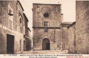 CASA DEL SOL (ANTIGUA CASA DEL PADRE BUFALO), FOTOGRAFÍA DE L. ROISIN. (AÑOS 20-30)