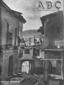 UNA CALLE TIPICA DE GUADALUPE, PORTADA DE ABC EN 1954