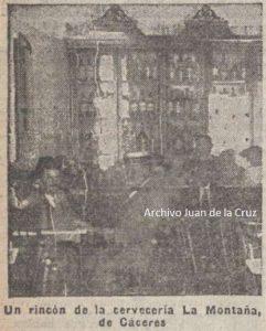 """CERVECERÍA """"LA MONTAÑA"""" (1916)"""