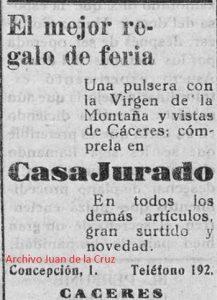 EL COMERCIO EN LAS FERIAS DE 1929