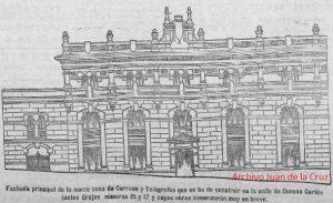 FACHADA CORREOS Y TELEGRAFOS (1926)