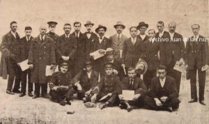 HOMENAJE A OBREROS CACEREÑOS (1925)