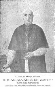 ALVAREZ DE CASTRO, HEROE Y MARTIR DE LA GUERRA DE LA INDEPENDENCIA