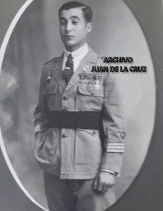 Basilio Pacheco, sargento en 1923. Ultima fotografía antes de resultar herido de gravedad y perder la vista.