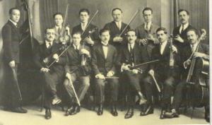 La Orquesta Pola, en el Café Viena, del Cáceres de Aquellos Tiempos.