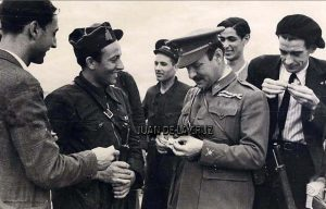 Luis Castelló, con el uniforme de General, y, ya, Ministro de la Guerra.