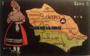 CACERES EN CHOCOLATES MARIA (AÑOS 20)