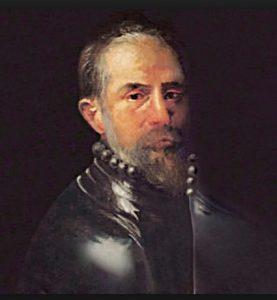 El conquistador e indiano cacereño Vasco Porcallo de Figueroa.