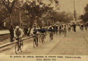 CACERES-SEVILLA, VUELTA CICLISTA A ESPAÑA DE 1936