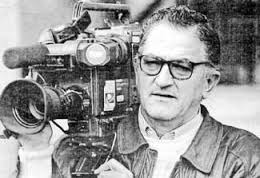 Enrique Caldera, una imagen, siempre, de Cáceres. Otro pionero de TVE en la ciudad cacereña.