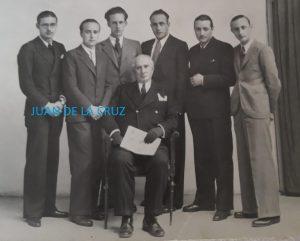 """FUNDADORES Y COLABORADORES DE LA REVISTA """"CRISTAL"""" (1935)"""