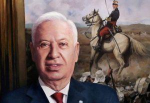 Cuadro de José Manuel García-Margallo para la Galería de Ministros de Asuntos Exteriores,