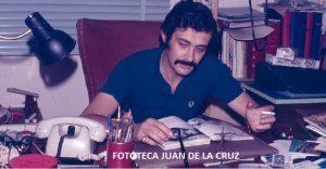 José María Parra en el despacho de su domicilio.