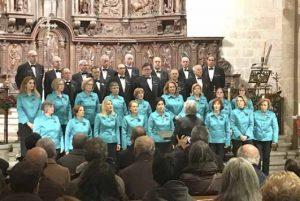 Actuación del Orfeón Cacereño en la Concatedral el pasado año. Fotografía Pedro Rodríguez Caballero.