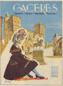 GUÍA DE TURISMO DE LA PROVINCIA DE CACERES (1959)
