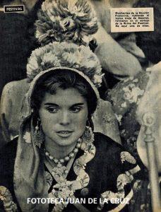 PEPI SUAREZ, EMBAJADORA DEL FOLKLORE CACEREÑO